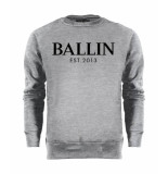 Ballin Est. 2013 Basic sweater grijs