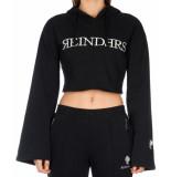 Reinders Flair sleeve hoodie – zwart