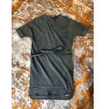 Penn & Ink S19w076 805 ny jurk linnen vera smoke