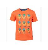 Someone Shirt korte mouw fiesta cactus oranje