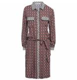 Summum 5s1022-10859 491 blouse jurk print pyjamas night blue