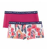 Muchachomalo Women 2-pack short nature