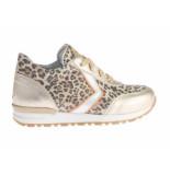 Pinocchio Sneaker luipaard goud