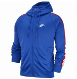 Nike M nsw he hoodie fz tribute 041097 blauw