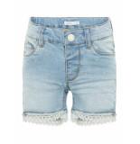 Name It Nmfsalli dnmbatira shorts blauw