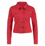 Studio Anneloes Isabel coloured jeans jacket rood