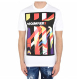 Dsquared2 2 t-shirt wit