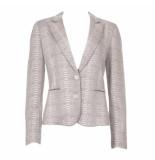 20 TO Blazer snake giacca beige