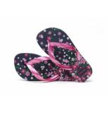 Havaianas Slipper kids flores pink navy blauw