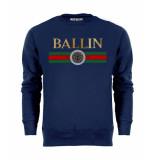 Ballin Est. 2013 Line small sweater blauw