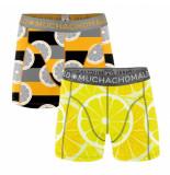 Muchachomalo Boys short 2-pack lemons