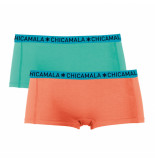 Muchachomalo Girls 2-pack short solid/solid