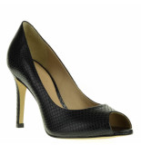 Tube Pumps high heels zwart