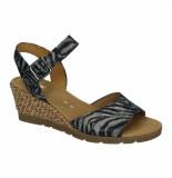 Gabor Slippers sandalen 041365 blauw
