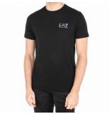 EA7 T-shirt zwart