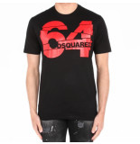 Dsquared2 2 t-shirt zwart