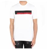 Dsquared2 2 t-shirt wit