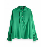 Maison Scotch Tunic top groen