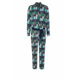 DIDI Jumpsuit met all-over print groen