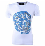 Empire NY Heren tshirt ronde hals brotherhood slim fit wit