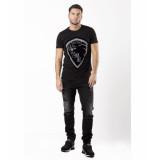 My Brand Lion13 tee logo t-shirt – zwart