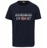 Napapijri Solin t-shirt – donker blauw