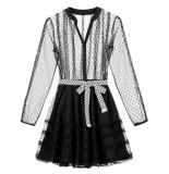 Nikkie Nola jurk - zwart