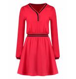 Nikkie Suzy tape jurk – rood