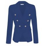 Goldie Estelle Judi blazer – kobalt blauw
