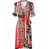 Summum 5s1062-10887 120 jurk patchwork print multicolour
