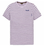 PME Legend Ptss193517 4243 short sleeve r-neck space yd stripes jefferson viola rood