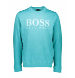 Boss Orange Trui wallker blue blauw