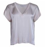 Sparkz T-shirt v-hals pale blush sparkz zalm