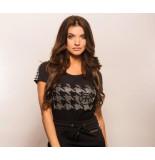 Rich ! shirt 10135 - zwart