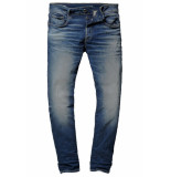 G-Star 3301 slim worker blue faded denim