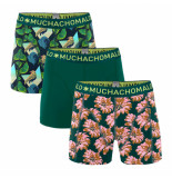 Muchachomalo Men 3-pack shorts digital nature