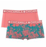 Muchachomalo Women 2-pack boxershort print