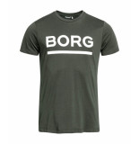 Bjorn Borg Samir tee army groen
