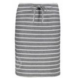 Zoso Helene sweat skirt with prin 192 grey/white grijs