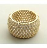 Christian 14 karaat gouden ring met zirkonia geel goud