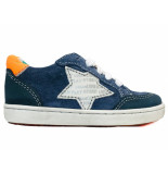Shoesme Veterschoenen urban marino blauw