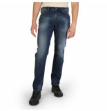 Diesel Larkee regular-straight fit jeans 084ns blauw