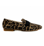 Paul Green Loafers leopardino camel bruin
