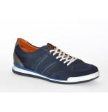 Van Lier van Lier artikelnummer 1917405 sneaker blauw suede