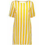 Only Madeline piper dress geel
