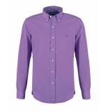 Ralph Lauren Poplin slim fit shirt paars
