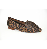 Paul Green artikelnummer 2376 loafer leopard print