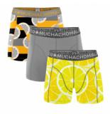 Muchachomalo Men short 3-pack lemons