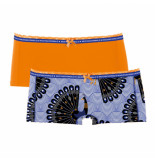 Muchachomalo Ladies 2-pack short proud as peacock