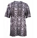 NA-KD T-shirt 1018-001900 grijs